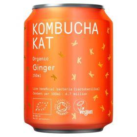 Kombucha Kat Ginger 250ml x12