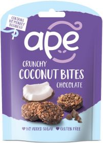 Ape Snacks Crunchy Chocolate Coconut Bites 26g x10