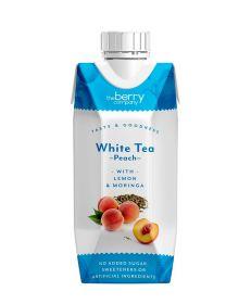 Berry Company White Tea & Peach With Lemon & Moringa 330ml x12