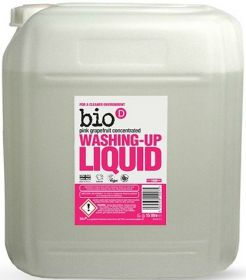 Bio-D Pink Grapefruit Washing-up Liquid (Concentrated) 15L x1