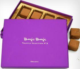 Booja Booja Organic Chocolate Truffles - Selection No.2 (Mixed Box) 138g x4