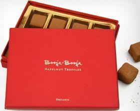 Booja Booja Organic Chocolate Truffles - Hazelnut 138g x4