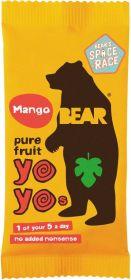 Bear Pure Fruit Mango Yoyos 20g x18
