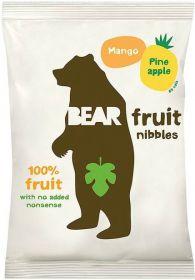 Bear Mango and Pineapple Fruit Nibbles 30g x12