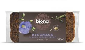 Biona Organic Linseed Gold (A rich source of OMEGA 3) 500g x6