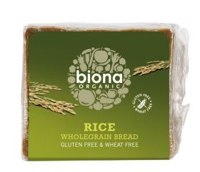 Biona Organic Gluten Free Rice Bread 500g x6