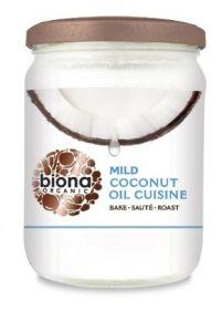 Biona Coconut Oil Cuisine - Mild & Odourless Organic 470mlx6