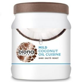 Biona Coconut Oil Cuisine - Mild & Odourless Organic 875mlx6