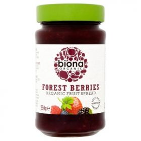 Biona Organic Forest Berries Spread (sweetened with Fruit Juice) 250gx6