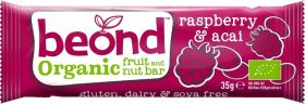 Beond Organic Raspberry and Berry Fruit and Nut Bar 35g x18
