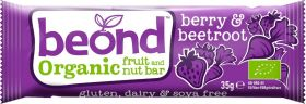 Beond Organic Berry and Beetroot Fruit and Nut Bar 35g x18