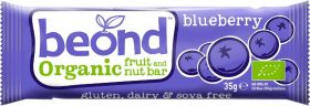 Beond Organic Blueberry Fruit and Nut Bar 35g x18