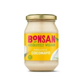 Bonsan Organic Cocomayo Vegan ( with Coconut oil ) 235gx6
