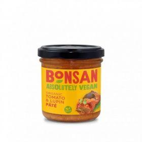 Bonsan Organic Tomato Lupin Pate - Vegan 140gx6