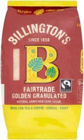 Billington's Fairtrade Golden Granulated Sugar 500gx10
