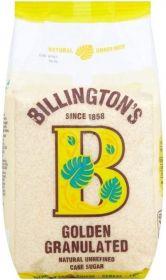 Billington's Organic Granulated Sugar 500gx10