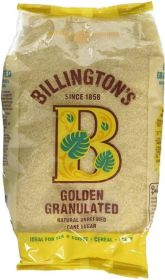 Billington's Golden Granulated Sugar 500gx10