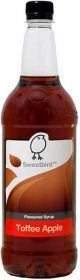 Sweetbird Classic Toffee Apple Flavoured Syrup 1 Litre x1