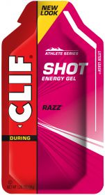Clif Shot Energy Gel - Razz (Raspberry) 34g x24