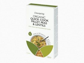 Clearspring Quick Cook Organic Rice & Quinoa 250g x 8