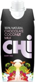 Chi 100% Natural Chocolate Coconut Milk 330ml x12