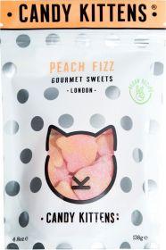 Candy Kittens Peach Fizz (Treat Bag) Gourmet Sweets 108g x9