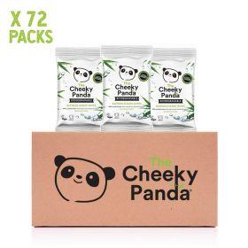 Cheeky Panda Biodegradable Bamboo Handy Wipes 12's x72
