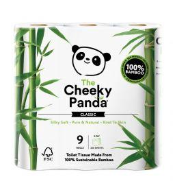 Cheeky Panda Toilet Tissue Bamboo 3ply (100% FSC) (200'sx9) x5