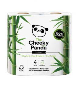 Cheeky Panda Toilet Tissue Bamboo 3ply (100% FSC) 4 rolls x12