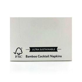 Cheeky Panda Plastic Free Cocktail Napkin (100% FSC) 100'S x30