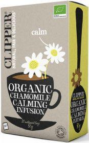 Clipper Organic Chamomile Infusion Tea Bags 30g (20's) x6