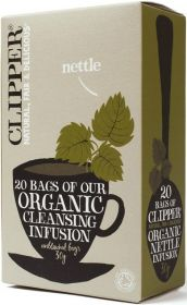 Clipper Organic Nettle (Cleansing) Infusion Tea Bags 30g (20's) x6