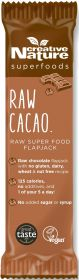 Creative Nature Superfoods Raw Cacao Energy Flapjack Bar 38g x20