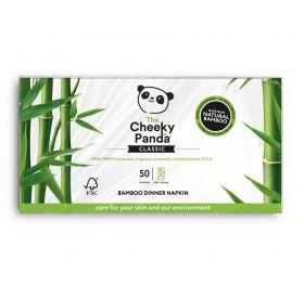 Cheeky Panda Dinner Napkin Bamboo 2ply (100% FSC) 50's x6