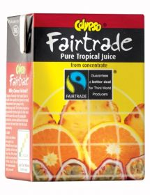 Calypso Fairtrade Pure Tropical Fruit Juice 27x200ml