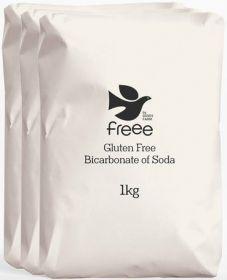Doves Farm Bicarbonate of Soda 1kg x3