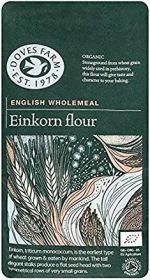 Doves Farm Organic Stoneground English Wholemeal Einkorn Flour 1kg x5