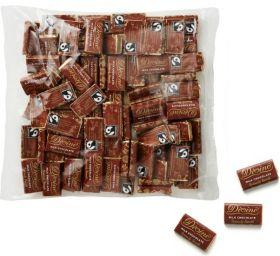 Divine Fair Trade Milk Chocolate Mini Bars 4.2g (100's) x12