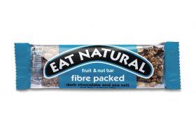 Eat Natural Fibre Packed Dark Cholcolate & Sea Salt 45g x12