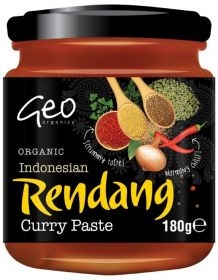 Geo Organics Indonesian Satay Paste 180gx6