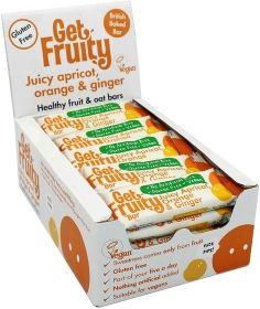 Get Fruity Scrumptious Strawberry Fuit and Oat Bar 35g x25