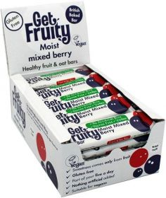 Get Fruity Juicy Apricot, Orange and Ginger Fuit and Oat Bar 35g x25