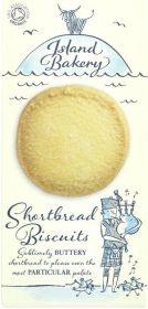 Island Bakery Shortbread Biscuits 150g x12