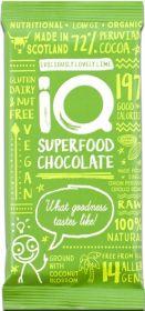 iQ Organic Espresso-Kick Coffee Superfood Chocolate Bar 35g x24