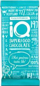 iQ Organic Original Bean-to-Bar Superfood Chocolate Bar 35g x24