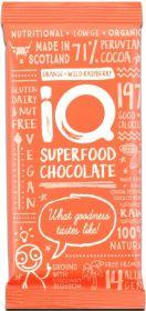 iQ Organic Original Plush Peppermint Superfood Chocolate Bar 35g x24