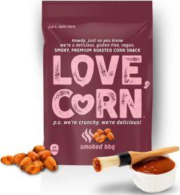 Love Corn Premium Smoky BBQ Crunchy Corn 45g x10