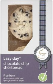 Lazy Day Chocolate Chip Shortbread Rounds 150g x8