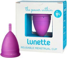Lunette Violet (Model 2 - Normal to Heavy Flow) Reusable Menstrual Cup x1