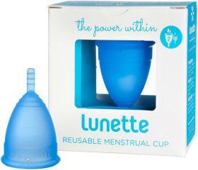 Lunette Blue (Model 2 - Normal to Heavy Flow) Reusable Menstrual Cup x1